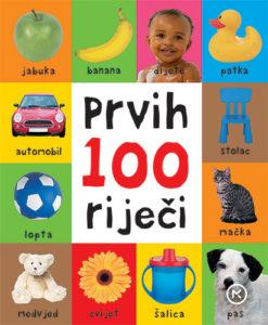 Naslovnica knjige: PRVIH 100 RIJEČI