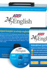 Naslovnica knjige: 24/7 ENGLISH