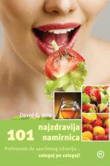Naslovnica knjige: 101 NAJZDRAVIJA NAMIRNICA