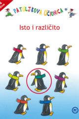 Naslovnica knjige: PATULJKOVA UČIONICA-ISTO I RAZLIČITO