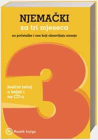 Naslovnica knjige: NJEMAČKI ZA TRI MJESECA