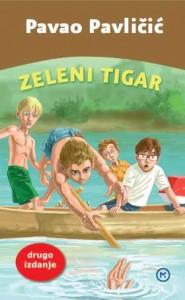Naslovnica knjige: ZELENI TIGAR