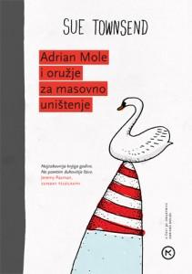 Naslovnica knjige: ADRIAN MOLE I ORUŽJE ZA MASOVNO UNIŠTENJE