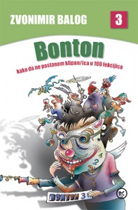 Naslovnica knjige: BONTON-KNJIGA TREĆA