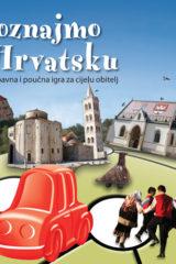 Naslovnica knjige: UPOZNAJMO HRVATSKU, društvena igra