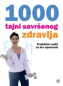 Naslovnica knjige: 1000 TAJNI SAVRŠENOG ZDRAVLJA