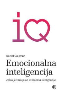 Naslovnica knjige: EMOCIONALNA INTELIGENCIJA