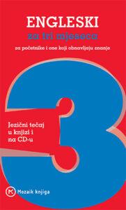 Naslovnica knjige: Engleski za tri mjeseca