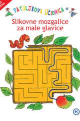 Naslovnica knjige: Patuljkova učionica- slikovne mozgalice