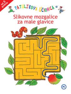 Naslovnica knjige: PATULJKOVA UČIONICA – SLIKOVNE MOZGALICE