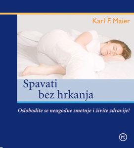 Naslovnica knjige: SPAVATI BEZ HRKANJA