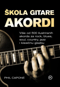 Naslovnica knjige: ŠKOLA GITARE AKORDI