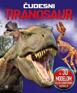 Naslovnica knjige: Čudesni tiranosaur