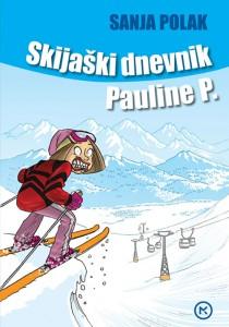 Naslovnica knjige: SKIJAŠKI DNEVNIK PAULINE P.