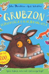 Naslovnica knjige: Grubzon – Slikovnica s naljepnicama