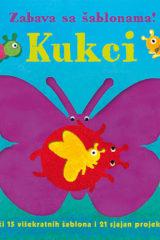 Naslovnica knjige: KUKCI – ZABAVA SA ŠABLONAMA!