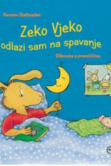 Naslovnica knjige: Zeko Vjeko odlazi sam na spavanje