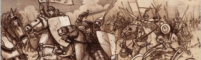 Bosansko kraljevstvo - crtez bitka
