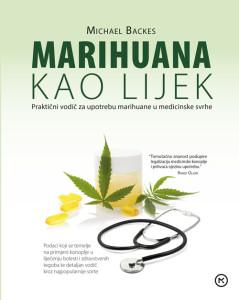 Naslovnica knjige: Marihuana kao lijek