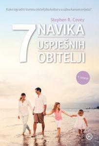 Naslovnica knjige: 7 NAVIKA USPJEŠNIH OBITELJI
