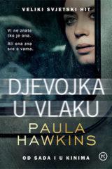 Naslovnica knjige: Djevojka u vlaku