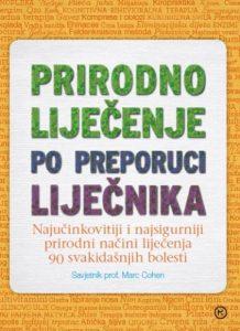 Naslovnica knjige: PRIRODNO LIJEČENJE PO PREPORUCI LIJEČNIKA