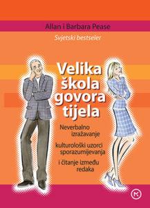 Naslovnica knjige: VELIKA ŠKOLA GOVORA TIJELA