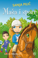 Naslovnica knjige: Maša i sport