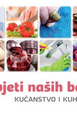 Naslovnica knjige: Savjeti naših baka – kućanstvo i kuhinja