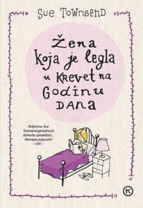 Naslovnica knjige: Žena koja je legla u krevet na godinu dana