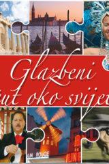 Naslovnica knjige: GLAZBENI PUT OKO SVIJETA CD