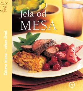 Naslovnica knjige: Jela od mesa