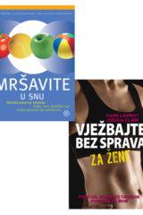 Naslovnica knjige: MRŠAVITE U SNU / VJEŽBAJTE BEZ SPRAVA ZA ŽENE (KOMPLET)