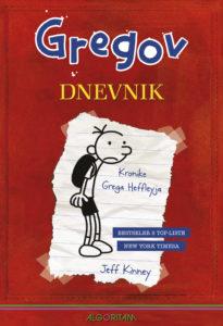 Naslovnica knjige: Gregov dnevnik – Kronike Grega Heffleyja