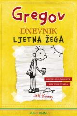 Naslovnica knjige: Gregov dnevnik: Ljetna žega