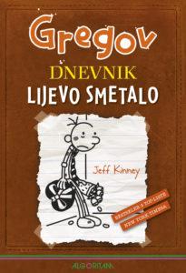 Naslovnica knjige: Gregov dnevnik: Lijevo smetalo
