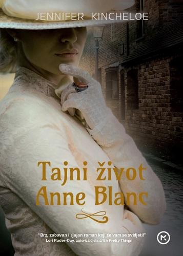 Naslovnica knjige  TAJNI ŽIVOT ANNE BLANC 0cc394b8063