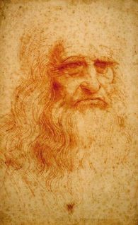 Leonardo da Vinci autoportret