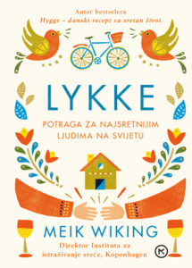 Naslovnica knjige: LYKKE – Potraga za najsretnijim ljudima na svijetu