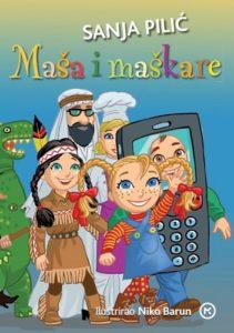Naslovnica knjige: MAŠA I MAŠKARE