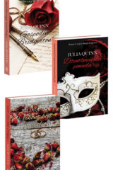 Naslovnica knjige: KOMPLET – GOSPODIN BRIDGERTON + DŽENTLMENSKA PONUDA + VIKONT KOJI ME VOLIO