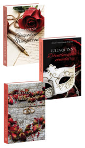 Naslovnica knjige: KOMPLET: GOSPODIN BRIDGERTON + DŽENTLMENSKA PONUDA + VIKONT KOJI ME VOLIO