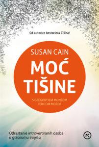 Naslovnica knjige: Moć tišine – Odrastanje introvertiranih osoba u glasnom svijetu