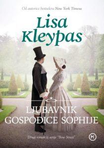 Naslovnica knjige: LJUBAVNIK GOSPOĐICE SOPHIJE
