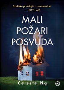 Naslovnica knjige: Mali požari posvuda
