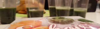 Alma Bunić i Mihaela Brijak pripremaju najbolje zdrave smoothije – zato su posjetitelji Interlibera tražili čašu više! - fotka