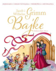 Naslovnica knjige: Bajke braće Grimm