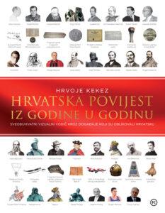 Naslovnica knjige: Hrvatska povijest iz godine u godinu