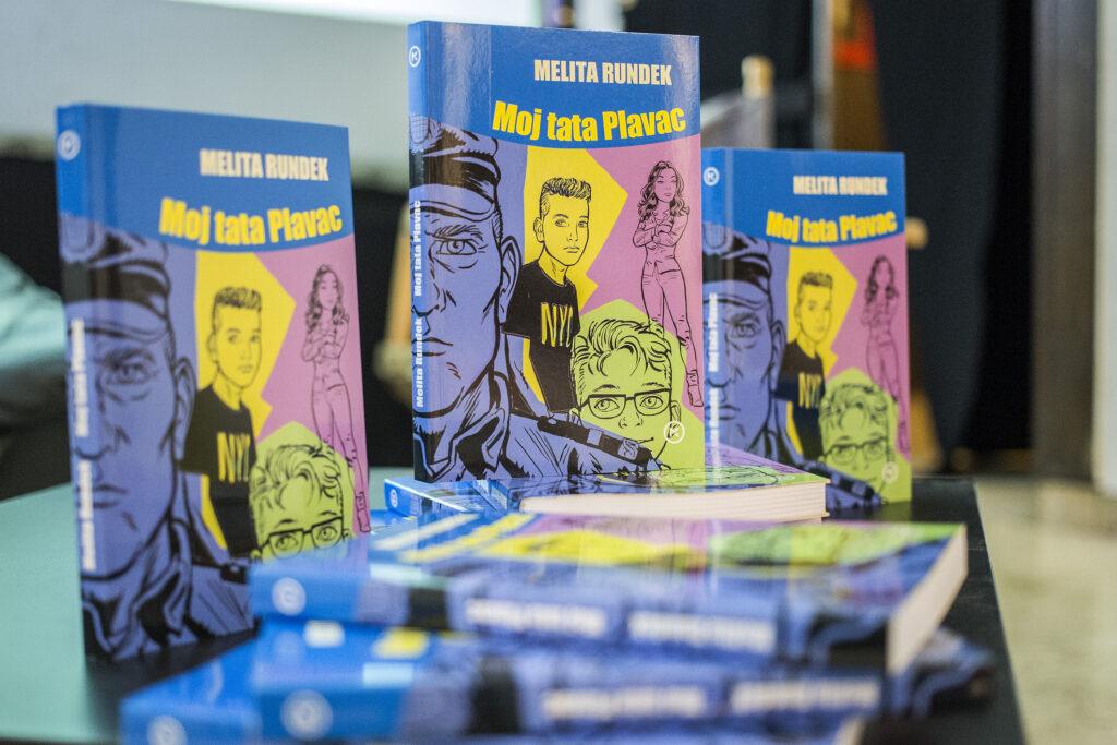 """Melita Rundek na promociji knjige """"Moj tata Plavac"""" poručila: """"Djeci moramo pružiti dobre uzore!"""" - fotka"""