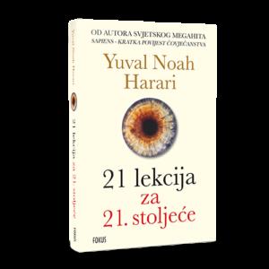 Naslovnica knjige: 21 LEKCIJA ZA 21. STOLJEĆE